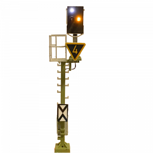H0 KS Vorsignal Auslegermast